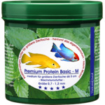 Pokarm Naturefood Premium Protein Basic M [55g] - dla mięsożernych ryb ozdobnych