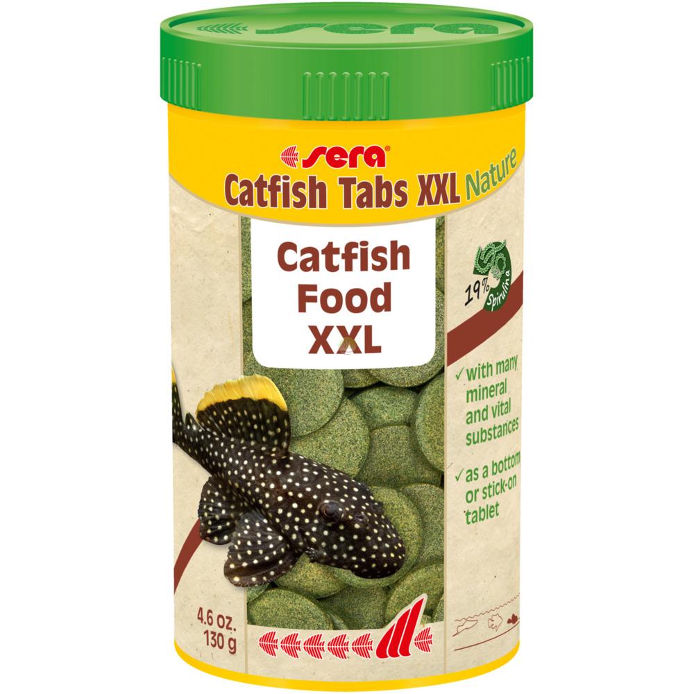 Pokarm Sera Catfish Tabs XXL [1000ml] - dla ryb dennych, tabletki