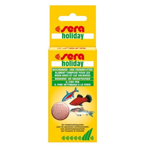 Pokarm SERA Holiday [2 tabl.] - pokarm w tabletkach na wakacje