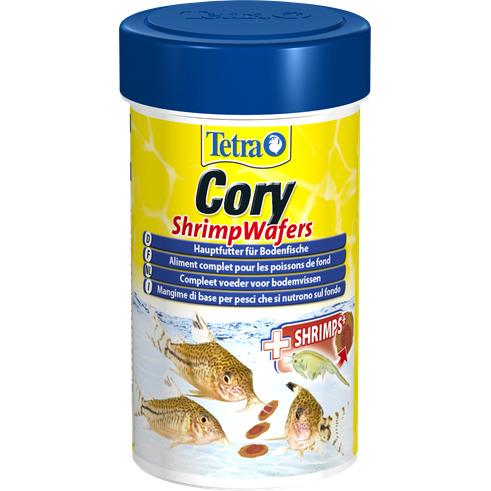 Pokarm Tetra Cory Shrimp Wafers [100ml] - dla kirysów