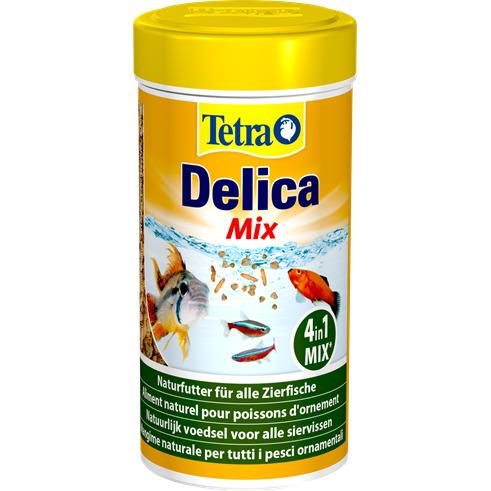 Pokarm Tetra Delica Mix [250ml /30g] - dafnia, artemia, kryl, gammarus