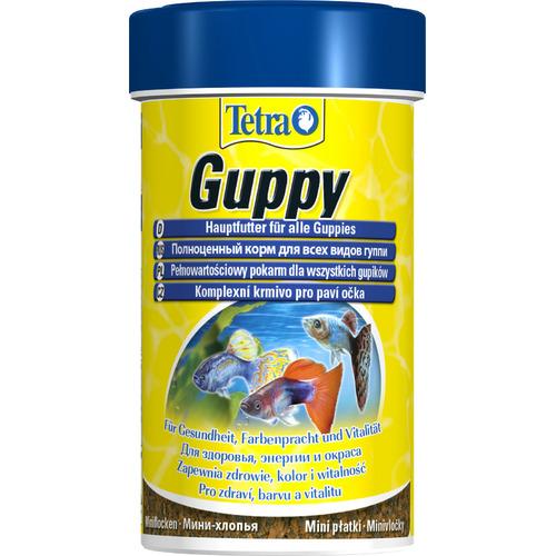 Pokarm Tetra Guppy [100ml] - mini płatki