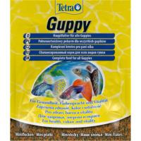 Pokarm Tetra Guppy [12g, saszetka] - mini płatki