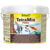 Pokarm Tetra Min [10l, wiaderko] - dla ryb ozdobnych, płatki