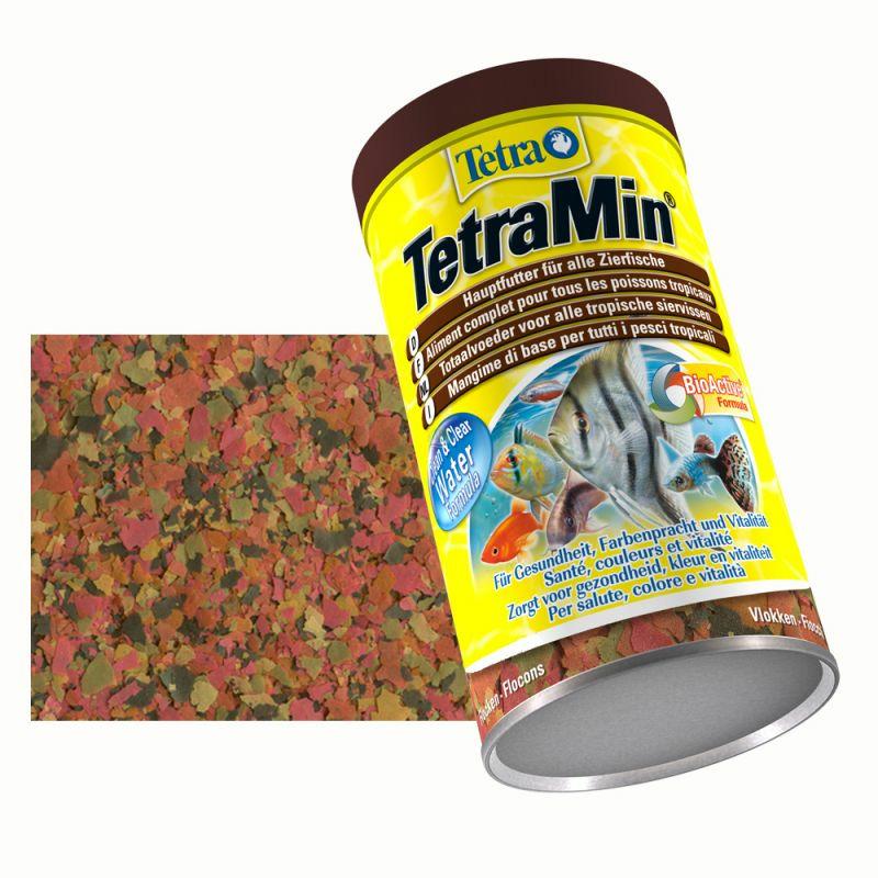 Pokarm Tetra Min [250ml] w płatkach - uzupełnienie