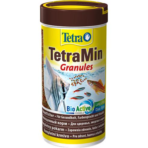 Pokarm Tetra Min Granules [250ml] - dla ryb ozdobnych, granulki