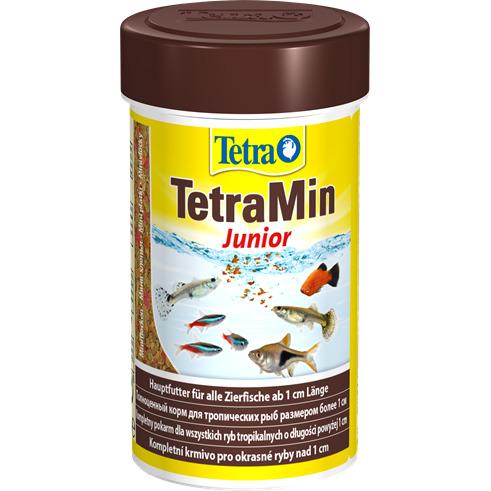 Pokarm Tetra Min Junior [100ml] -  dla młodych ryb, płatki