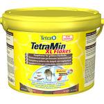 Pokarm Tetra Min XL Flakes [3600 ml, wiaderko] - dla dużych ryb ozdobnych, płatki