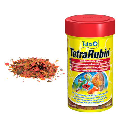 Pokarm Tetra Rubin [500ml] w płatkach - uzupełnienie