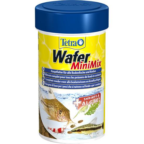Pokarm TetraWafer Mini Mix [100ml] - dla ryb denncyh