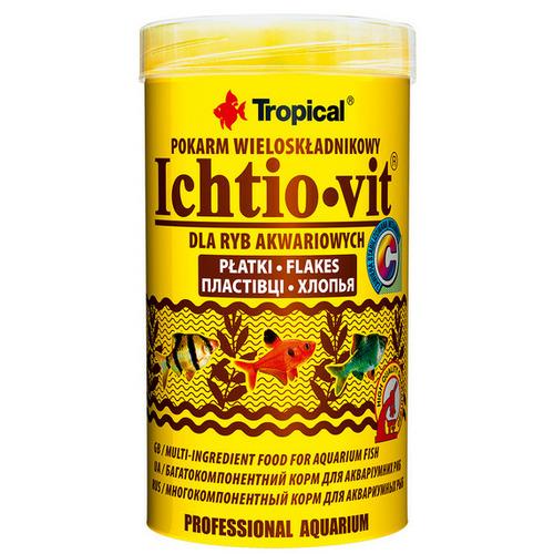Pokarm Tropcal Ichtio-Vit [250ml] - wieloskładnikowy [77004]