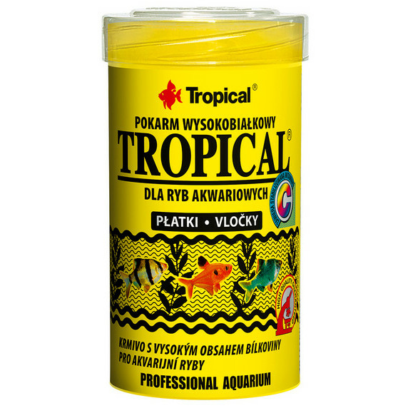 Pokarm Tropical [100ml] - wysokobiałkowy (płatki)