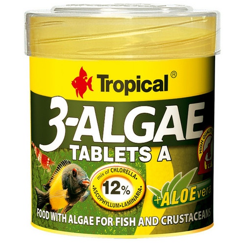 Pokarm Tropical 3-Algae Tablets A [50ml] - 20732