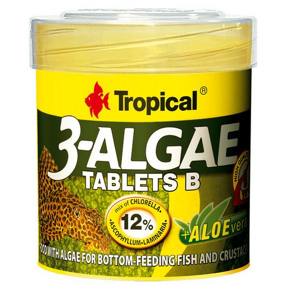 Pokarm Tropical 3-Algae Tablets B [50ml/36g] - 20742