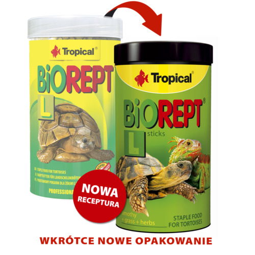Pokarm Tropical Biorept L-Żółw [250ml] (11354) - pokarm dla żółwi lądowych