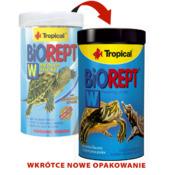 Pokarm Tropical Biorept W-Żółw [1000ml] (11366) - pokarm dla żółwi wodnych