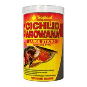 Pokarm Tropical Cichlid & Arowana large sticks [1000ml] (63536) - dla pielęgnic