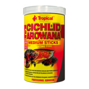 Pokarm Tropical Cichlid & Arowana medium sticks [250ml] (63524) - dla pielęgnic