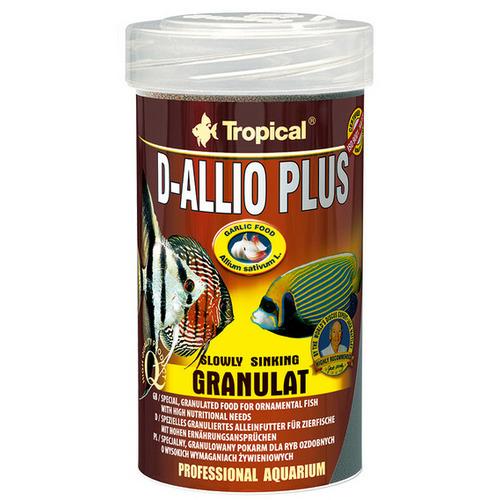 Pokarm Tropical D-Allio Plus Granulat [100ml] - 60623