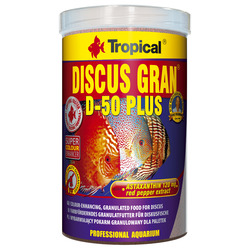Pokarm Tropical Discus gran d-50 Plus [1000ml] - granulat (60666)