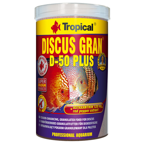 Pokarm Tropical Discus gran d-50 Plus [1000ml] - granulat (60666)