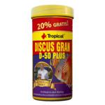 Pokarm Tropical Discus gran D-50 plus [100ml/44g] (61613) - pokarm dla paletek