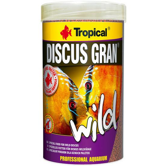 Pokarm Tropical Discus Gran Wild [250ml] (60684)