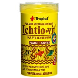 Pokarm Tropical Ichtio-Vit [100ml] - wieloskładnikowy, podstawowy