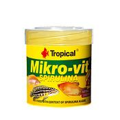 Pokarm Tropical MIKRO-VIT Spirulina [50ml] - dla narybku (77632)