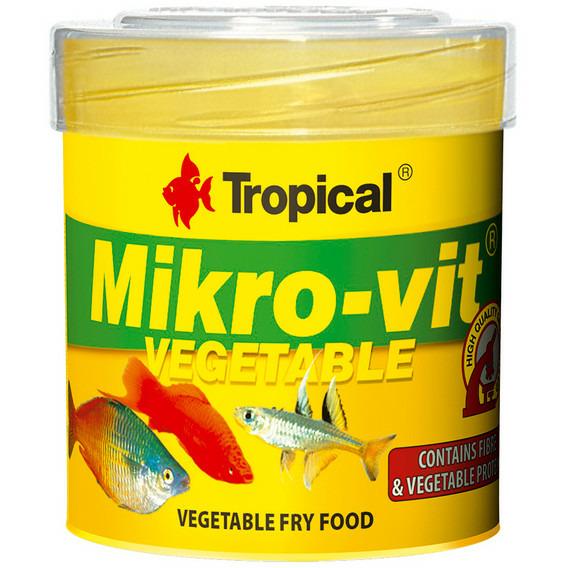 Pokarm Tropical MIKRO-VIT VEGETABLE [50ml] - 77612