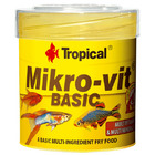 Pokarm Tropical Mikrovit Basic [50ml/32g] - dla narybku [77602]