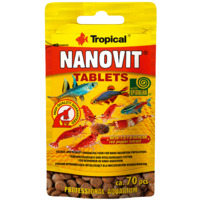 Pokarm Tropical Nanovit tablets [70 tabletek] - 20701