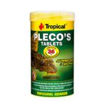 Pokarm Tropical Pleco's tablets [50ml/11szt.] (20772) - pokarm dla dużych ryb