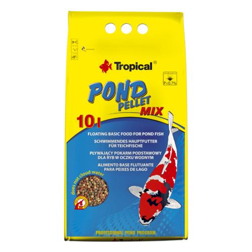Pokarm Tropical Pond pellet mix [10L/1300g] (41206) - pokarm dla ryb w oczku wodnym