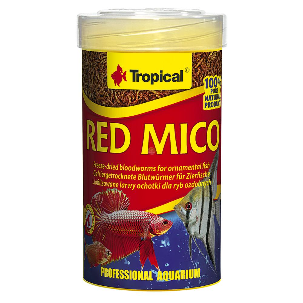 Pokarm Tropical Red Mico [100ml] (01143) - liofilizowane larwy ochotki