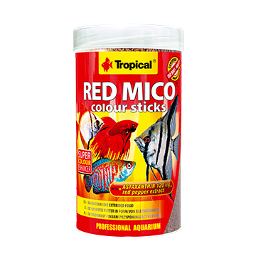 Pokarm Tropical Red Mico Colour Sticks [250ml] (63554) - larwy ochotki
