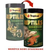Pokarm Tropical Reptiles Herbivore soft [1000ml/260g] (11636) - pokarm dla gadów