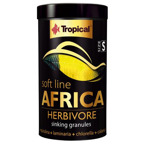Pokarm Tropical Soft line Africa Herbivore chips S [250ml/150g] (67564) - pokarm dla ryb afrykańskich