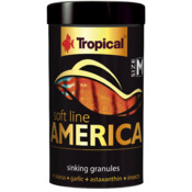 Pokarm Tropical Soft line America size M [100ml/60g] (67423)