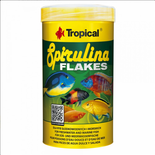 Pokarm Tropical Spirulina Flakes [100ml] (77133)