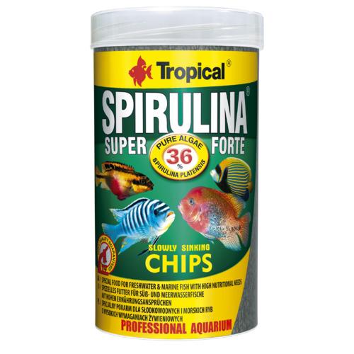 Pokarm Tropical Super Spirulina Forte chips [250ml] (60574)