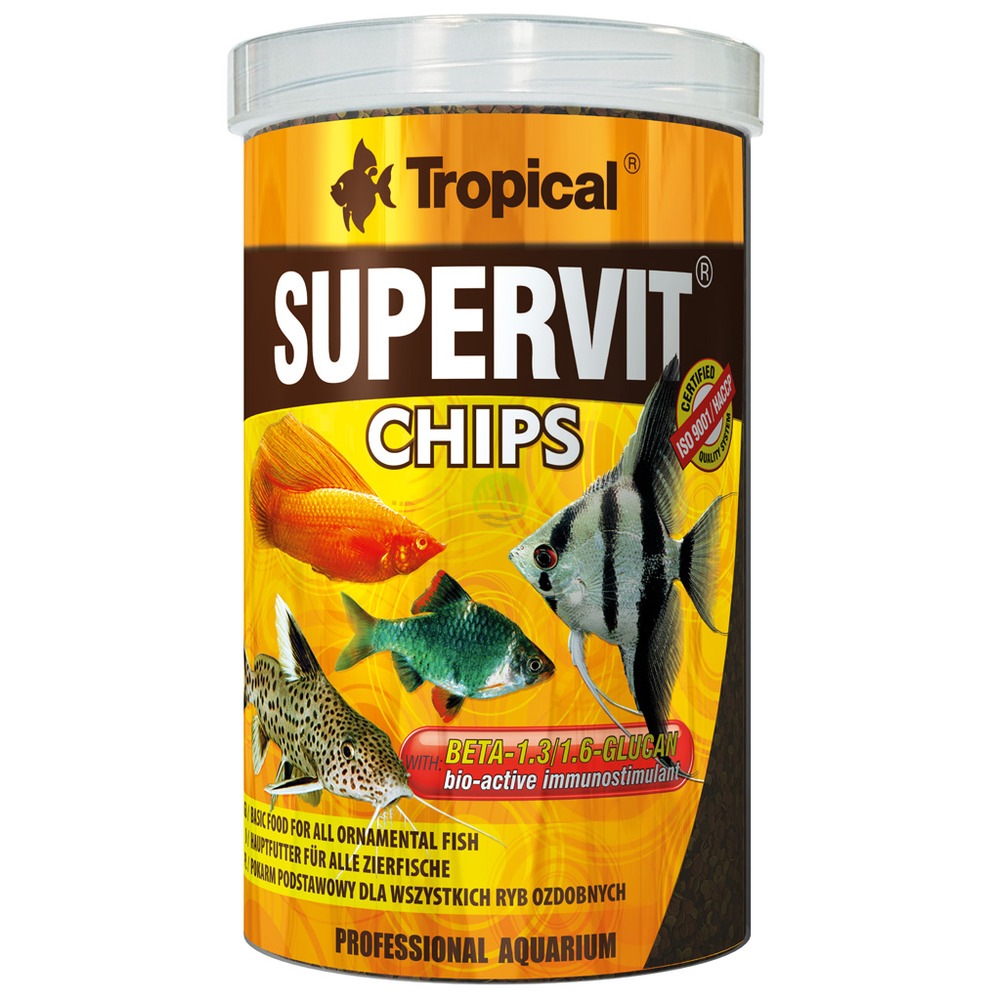 Pokarm Tropical Supervit Chips [1000ml] (60816) - wieloskładnikowy