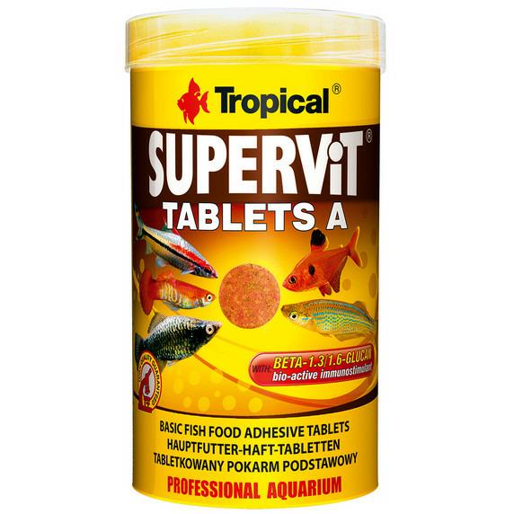 Pokarm Tropical Supervit Tablets A [250ml] - w tabletkach