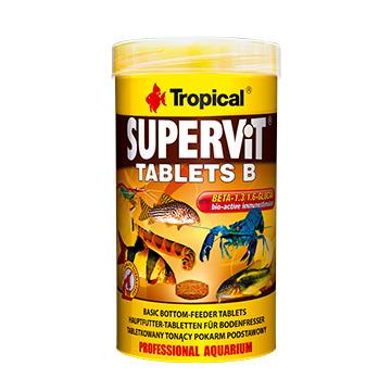 Pokarm Tropical Supervit tablets B [50ml/200szt.] (20632) - pokarm wieloskładnikowy
