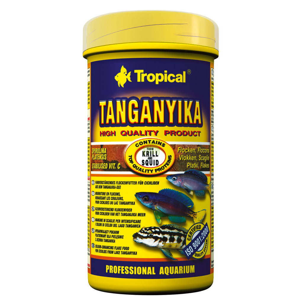 Tropical Pokarm Tropical Tanganika Flakes 100ml20g Dla