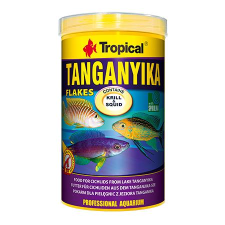 Pokarm Tropical Tanganyika flakes [1000ml/200g] (77216) - pokarm dla pielęgnic
