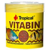 Pokarm Tropical Vitabin wieloskładnikowy [50ml] [80szt.] - tabletki