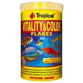 Pokarm Tropical Vitality & Color [1000ml] - pokarm wysokobiałkowy, wybarwiający