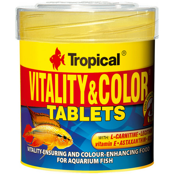 Pokarm Tropical Vitality & Color Tablets [50ml/36gl]