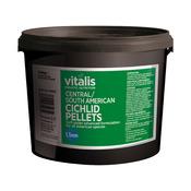 Pokarm Vitalis C/S American Cichlid Pellets S 1.5mm [1,8kg]